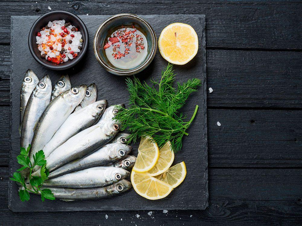 Les sardines font partie des meilleurs poissons à manger