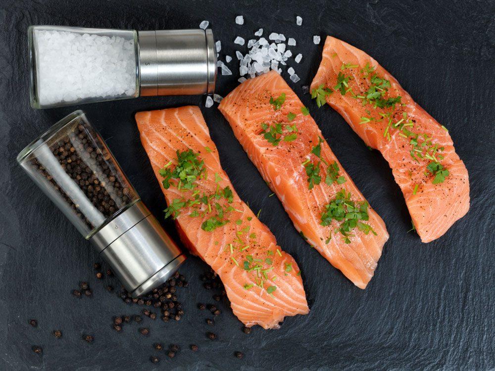 Le saumon sauvage du Pacifique est l'un des meilleurs poissons à manger