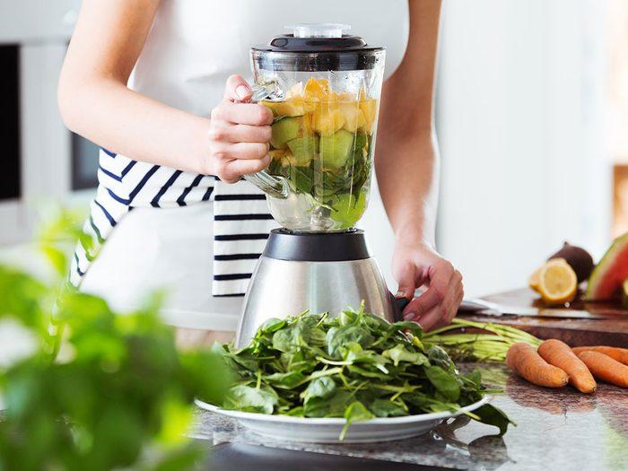 Le mélangeur est l'un des objets du quotidien qui est souvent mal utilisé.
