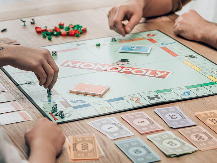 Le Monopoly est l'un des objets du quotidien qui est souvent mal utilisé.