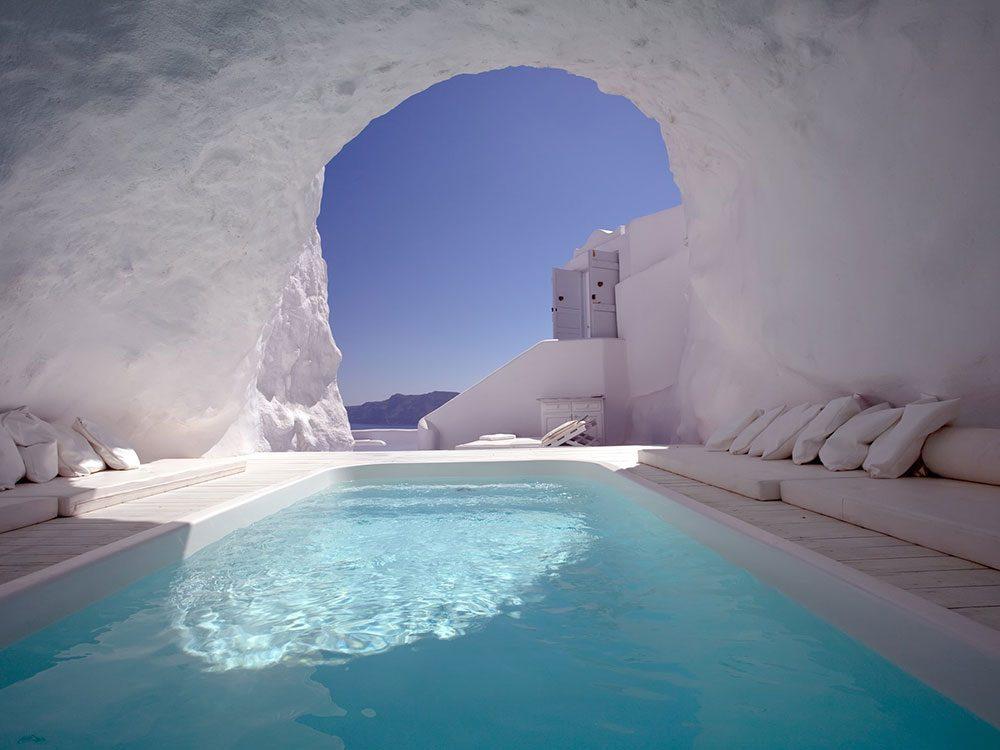 Les piscines troglodytes sont des piscines de rêve.