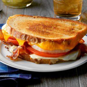 Grilled cheese classique (le meilleur)