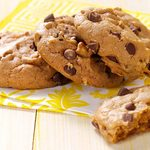 Biscuits végétaliens aux brisures de chocolat
