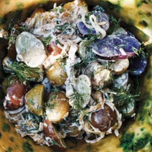 Salade de pommes de terre signée Ruby Watchco