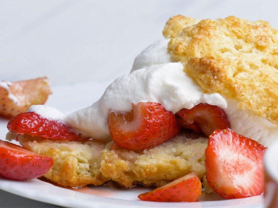 Le meilleur shortcake aux fraises.