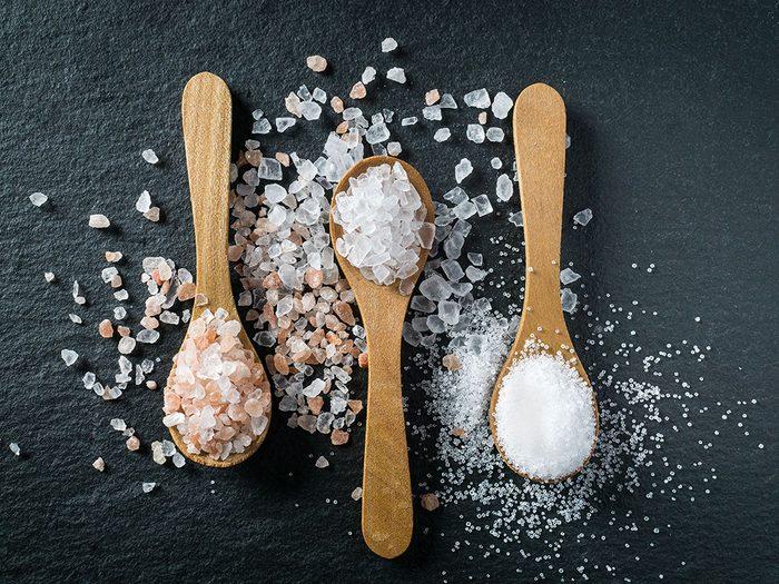 Quelle est l'origine du sel?