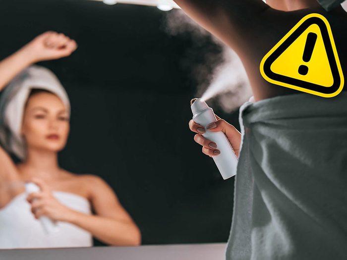 Utiliser du déodorant comme base de maquillage est l'une des tendances beauté qu'il vaut mieux oublier.