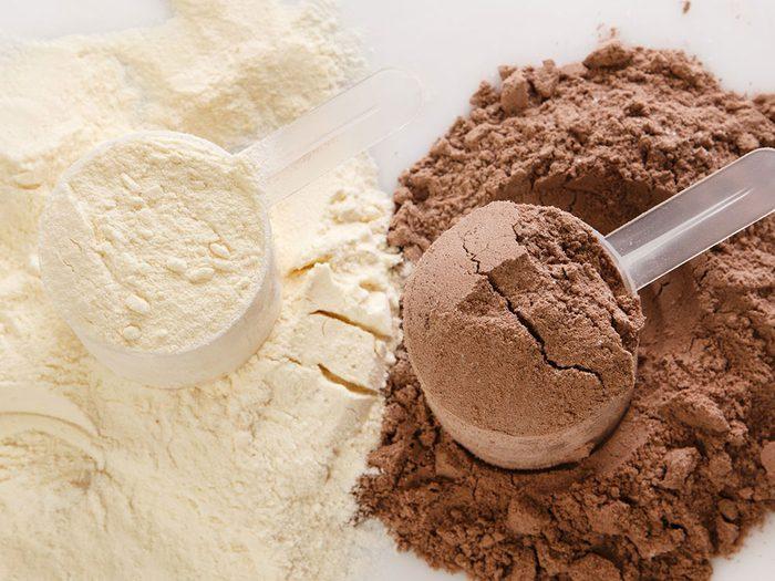 Plus de protéines pour plus d tonus musculaire.