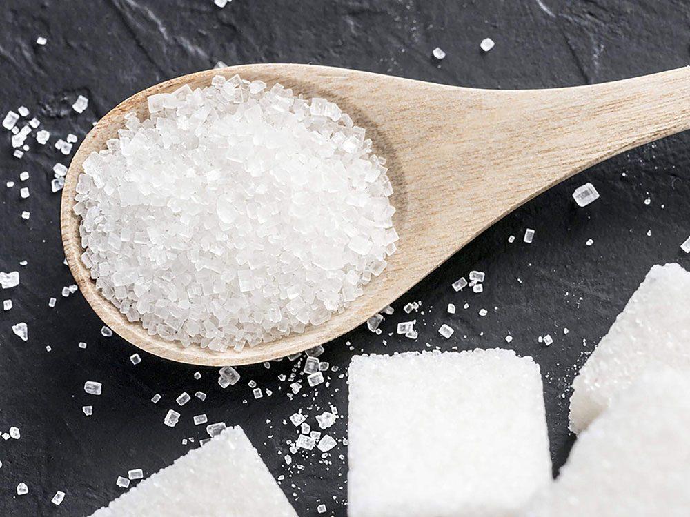 La date de péremption du sucre n'a pas d'importance.