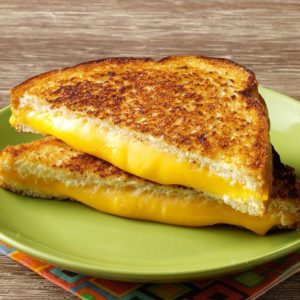Grilled cheese au 4 fromages