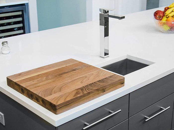 Comment augmenter la valeur de sa maison: pensez à changer vos comptoirs de cuisine.