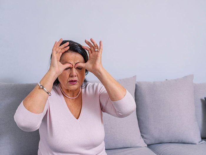 Des problèmes nasaux peuvent vous donner de la difficulté à dormir.