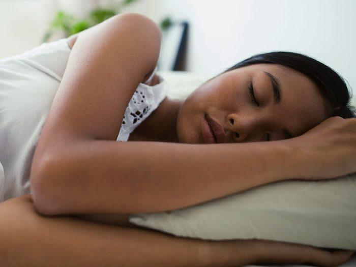 Qu'est-ce qui vous donne de la difficulté à dormir?