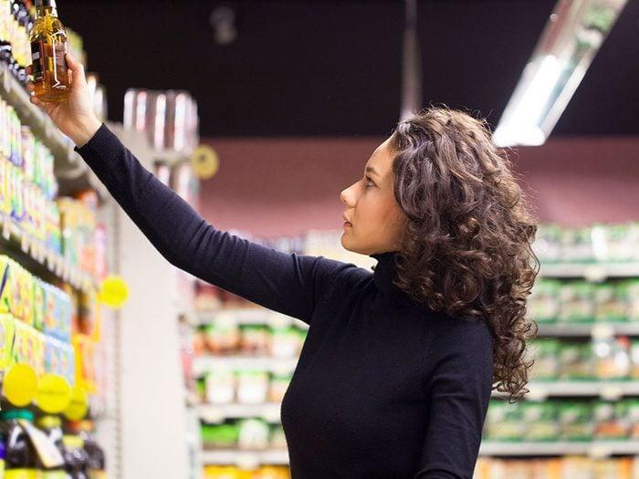 Explorer au supermarché pour entraîner son cerveau.