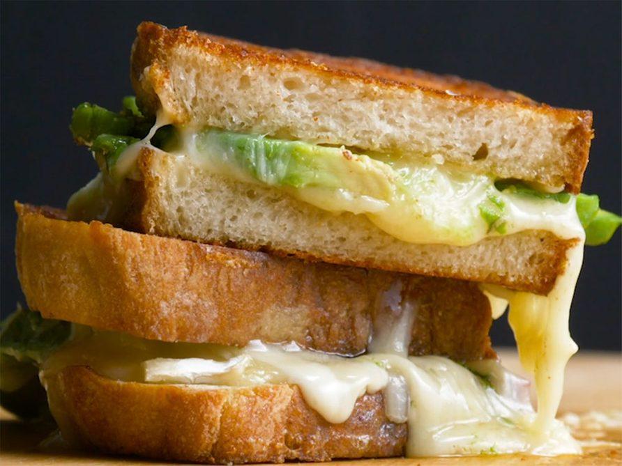 Le meilleur grilled cheese à vie!