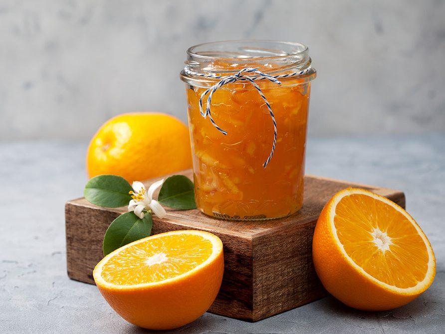 Recette de marmelade d'agrumes.