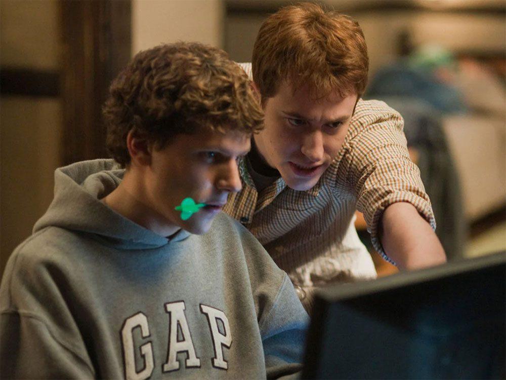 Le réseau social est l'un des meilleurs films sur Netflix Canada.