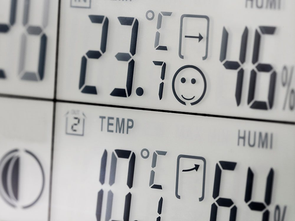 L'indice humidex et la météo.