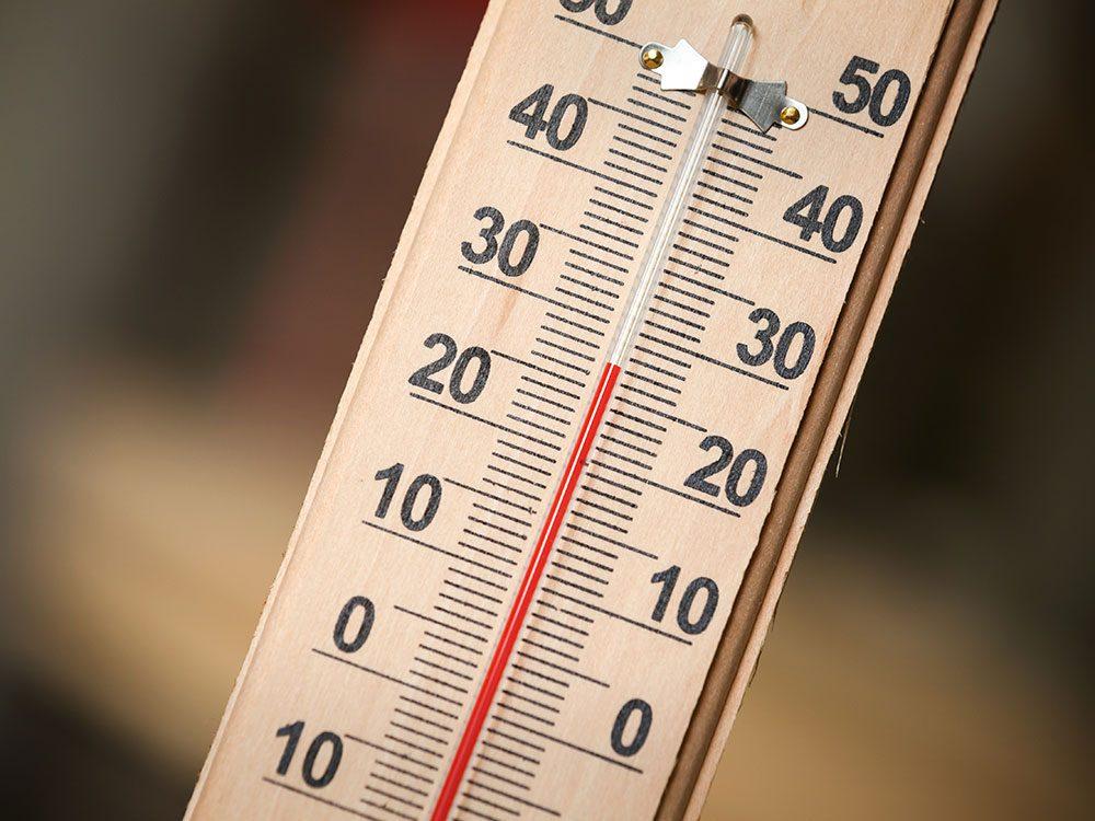 Le réchauffement climatique influe sur la météo.