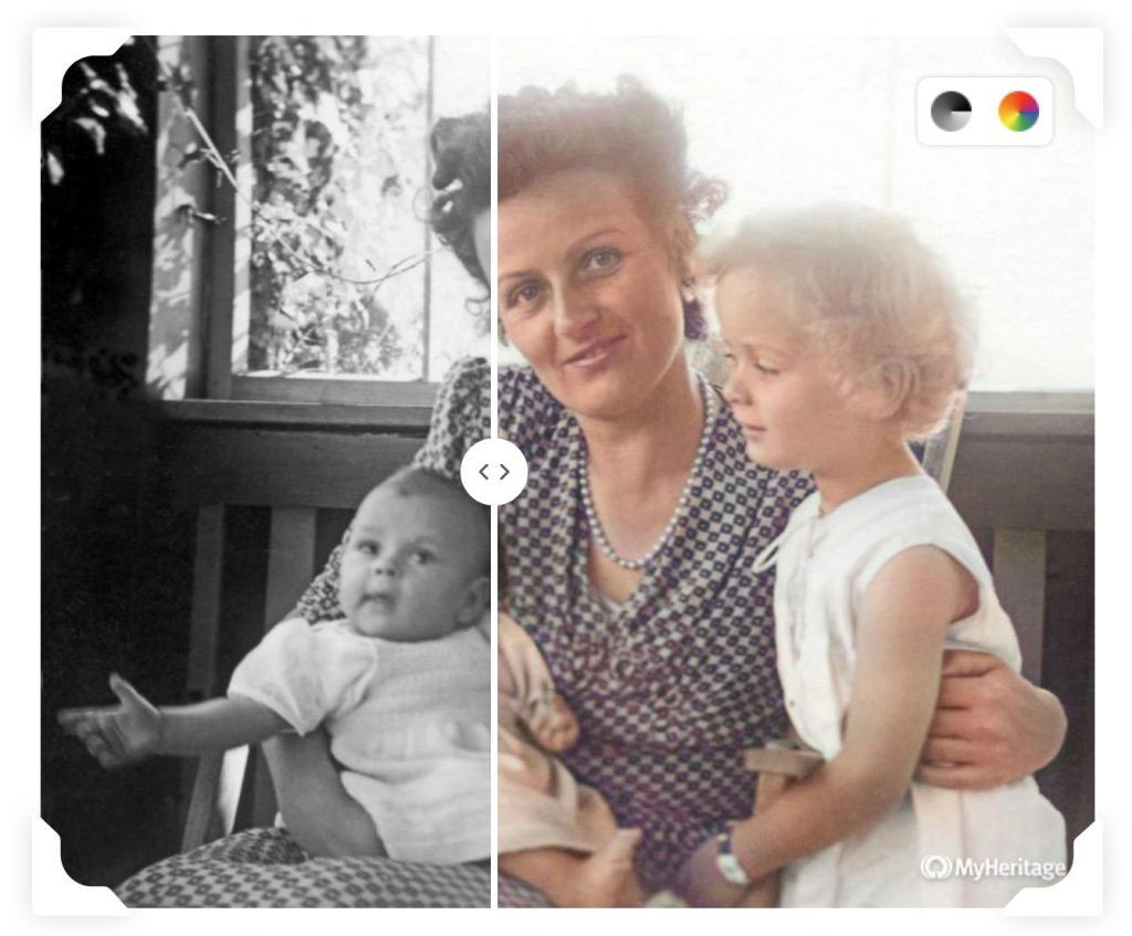 Ces photos ont été colorisées pour voir le passé en couleur.