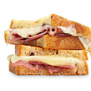 Grilled Cheese au prosciutto