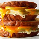 Grilled cheese de luxe réinventé