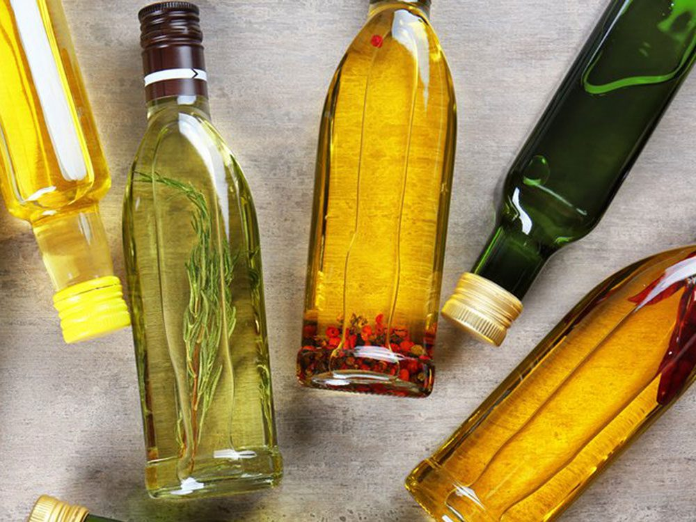Évitez de rapporter les huiles pressées à froid en tant que restes de table.