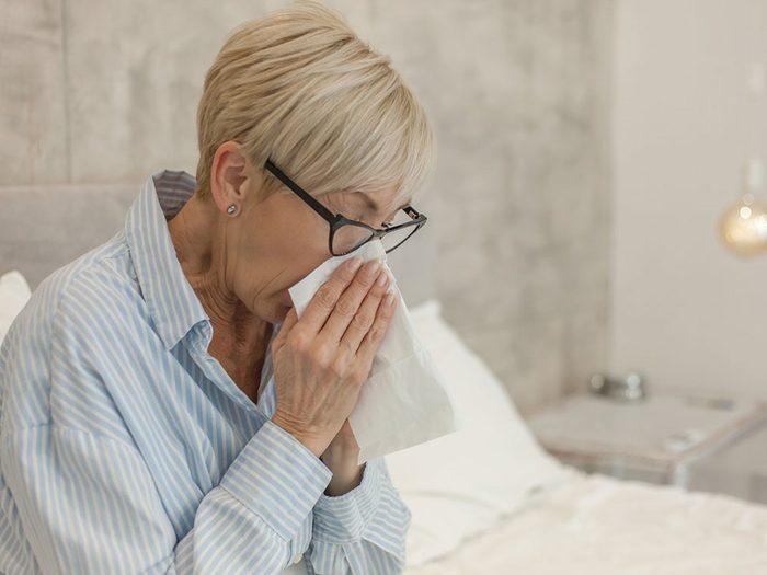 Il existe plusieurs types d'incontinence liés à une vessie hyperactive.