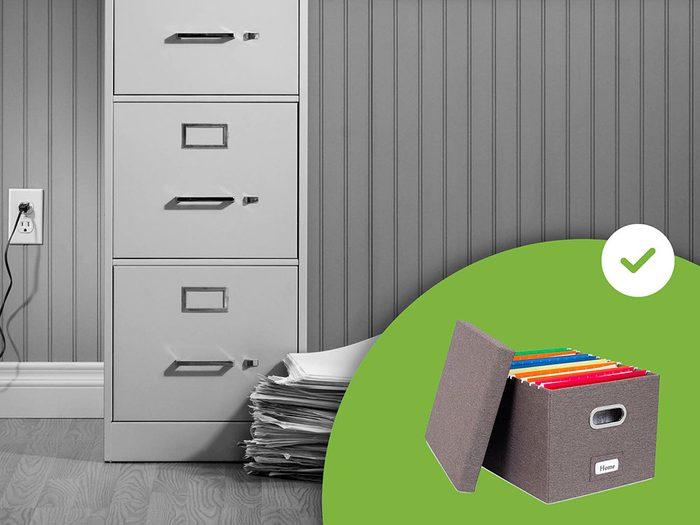 Les classeurs font partie des accessoires de rangement que les experts en organisation n'achètent jamais.