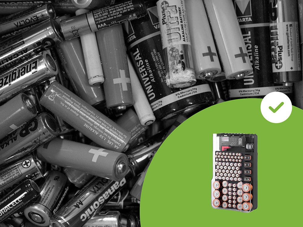 Les boîtes pour les piles font partie des accessoires de rangement que les experts en organisation n'achètent jamais.