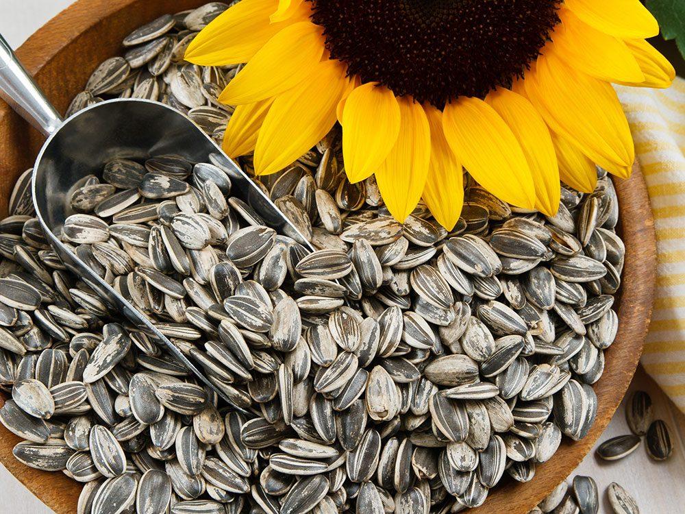 Les bienfaits des graines de tournesol sur la santé.