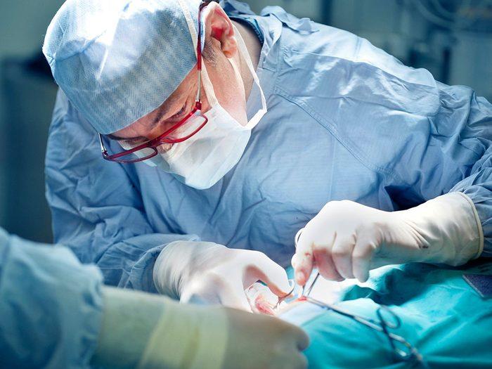 Types d'emplois susceptibles de causer le syndrome du canal carpien.