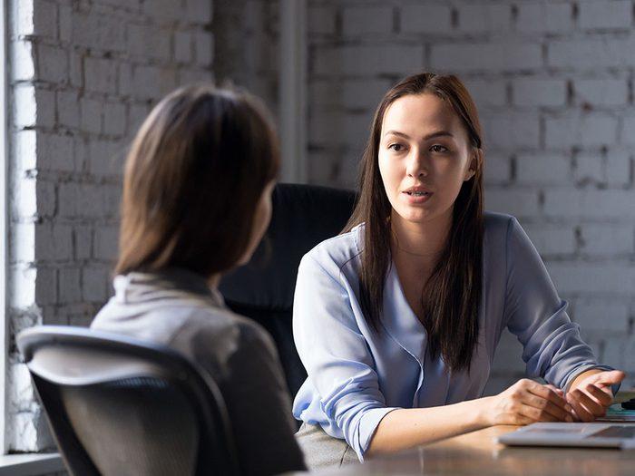Trouver son bonheur professionnel auprès d'un conseiller en orientation.