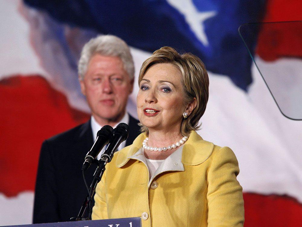 Élections américaines: Hilary et Bill Clinton.