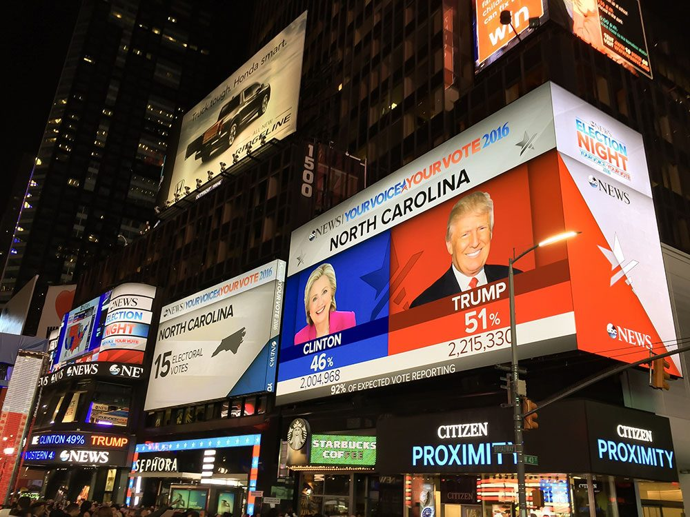 Élections américaines: Hilary Clinton a failli être la première présidente des États-Unis.