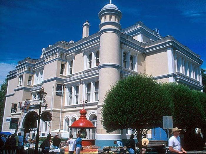 Le Musée maritime de la Colombie-Britannique à Victoria fait partie des endroits hantés au Québec et au Canada.