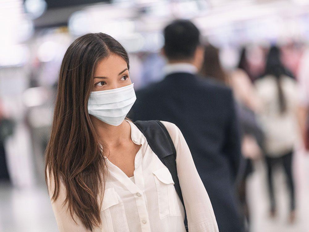 Dégoût: comment lire les expressions faciales quand les gens portent un masque?