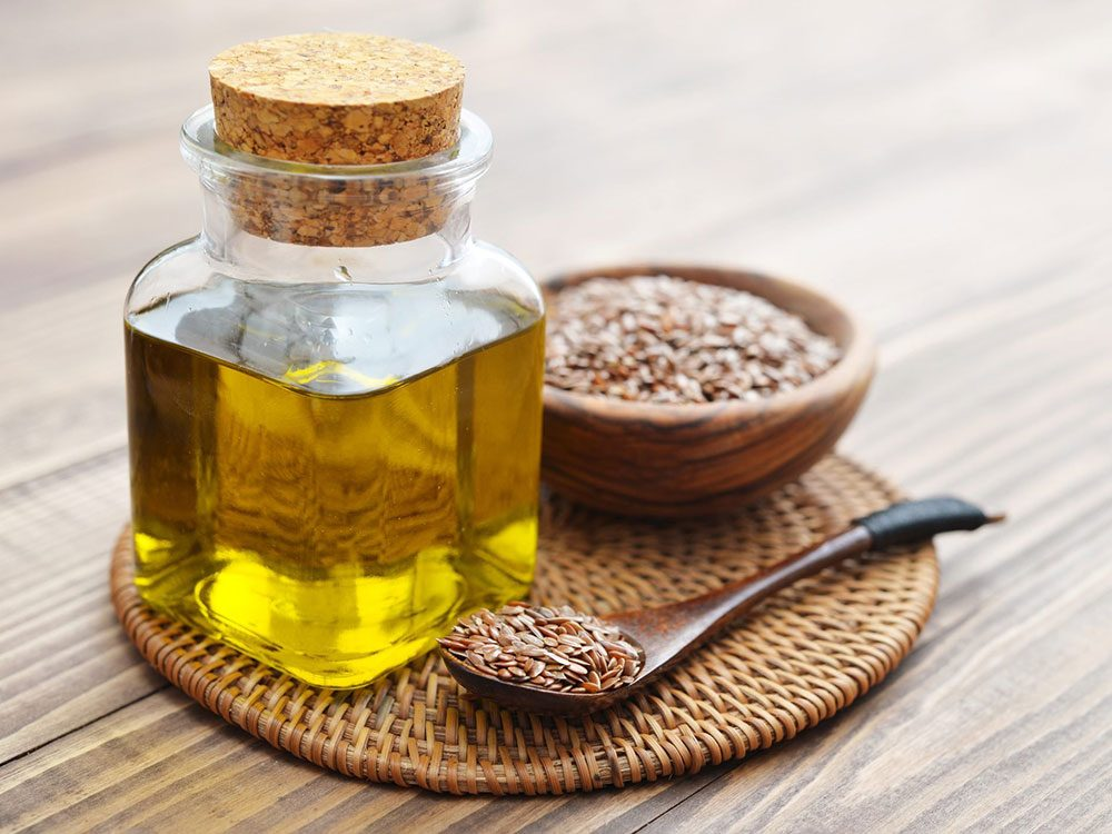 L'huile de lin est une bonne huile pour la cuisson.