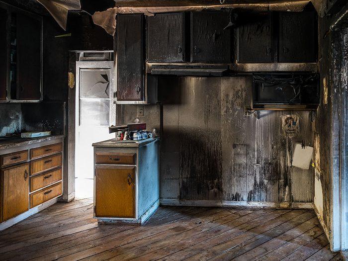 Les incidents en cuisine sont la première cause d'incendie domestique.