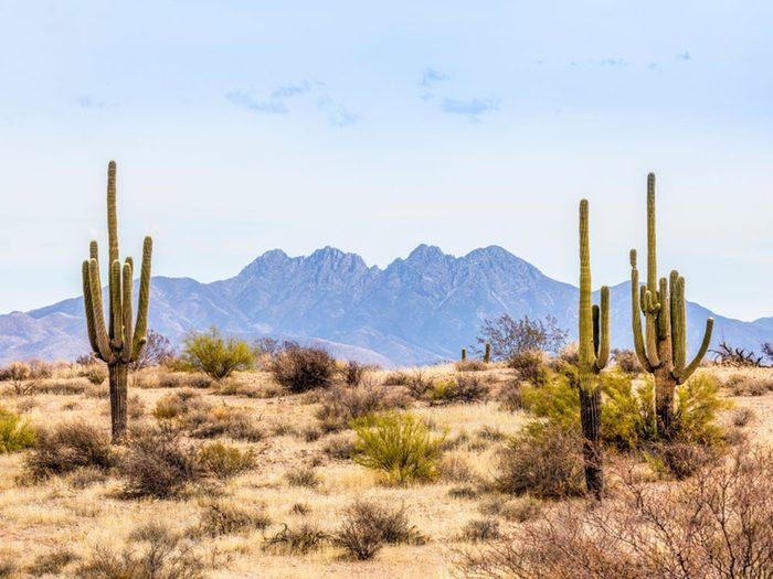 Des observations d'ovnis ont eu lieu en Arizona en 2018.