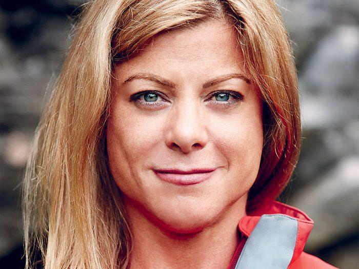 Monique Richard nous parle de sa dangereuse passion qu'est l'alpinisme.