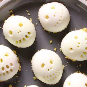 Recette de crânes d'œufs farcis