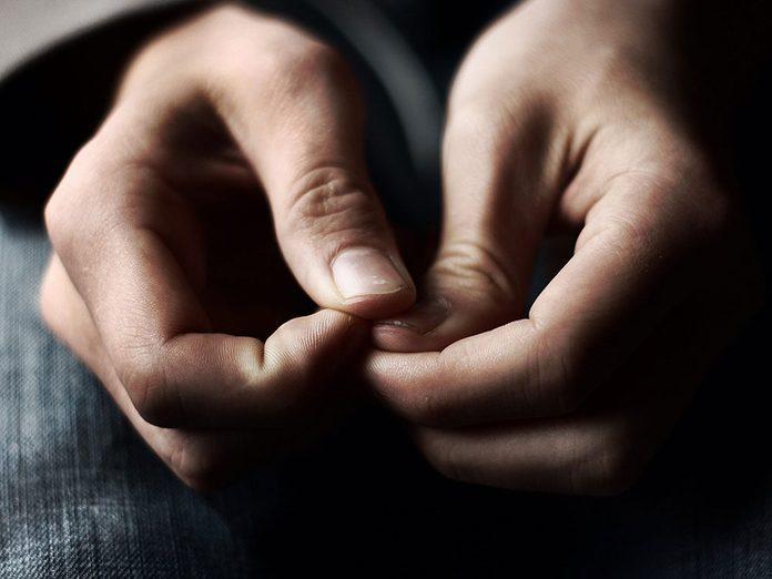 L'anxiété permanente est l'un des symptômes de la dépression nerveuse.