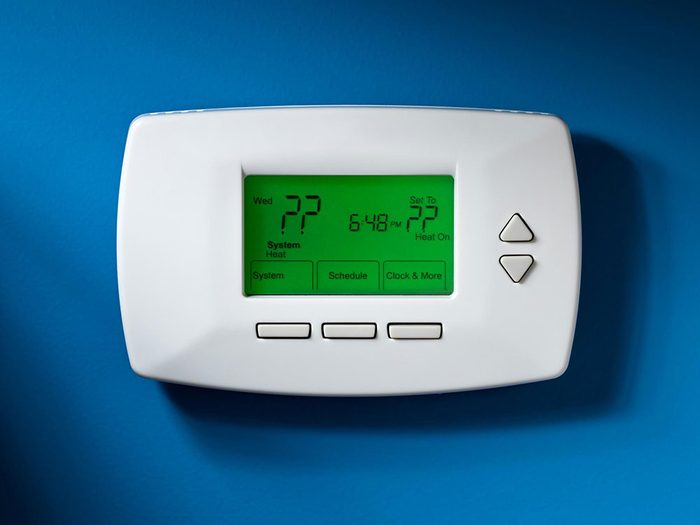 Quelle est la température idéale pour la maison en hiver?