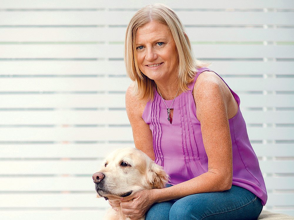 Rien ne laissait croire que Julie aurait besoin d'un traitement contre le cancer.