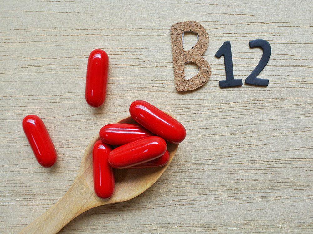 Végétarisme: manque de vitamine B12 et risque d'AVC plus élevé.