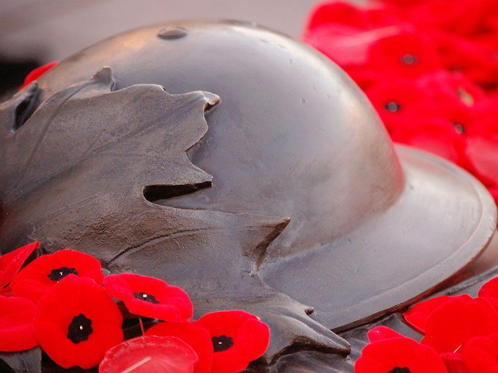 Le jour du Souvenir de la Première Guerre mondiale.