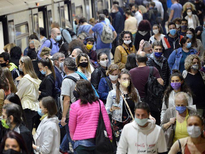 Le traitement de l'agoraphobie en temps de pandémie.