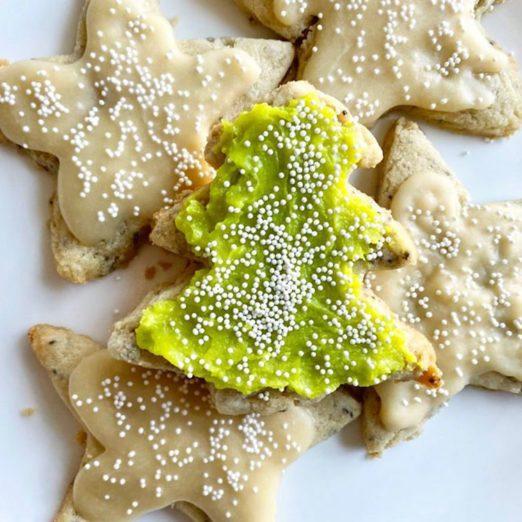 Recette de biscuits au sucre végétaliens sans gluten