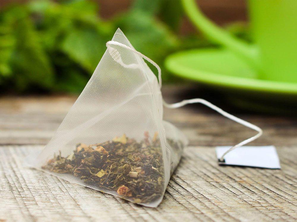 Comment préparer le thé: ne jetez pas votre sachet.